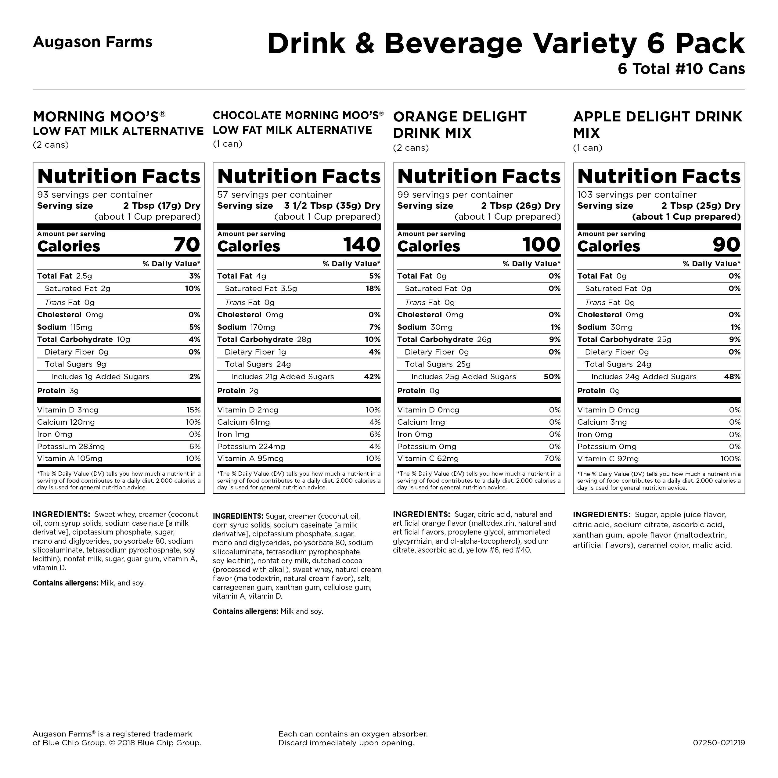 Augason Farms Emergency Drink & Beverage Variety Pack Kit by Augason Farms (Image #4)