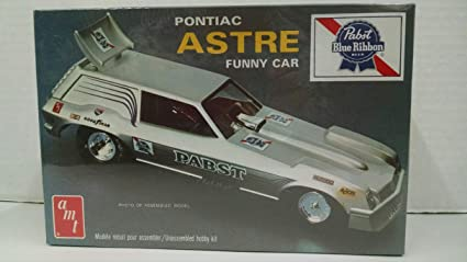 AMT #2804 1974 Pontiac Astre Funny Car Pabst Blue Ribbon VERY RARE 1:25
