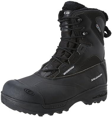 Salomon Men's Toundra Mid WP Boots Black Schwarz (Black/Black/Black) 9.5