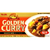 S&B Golden Curry Sauce Mix Mild, 220g
