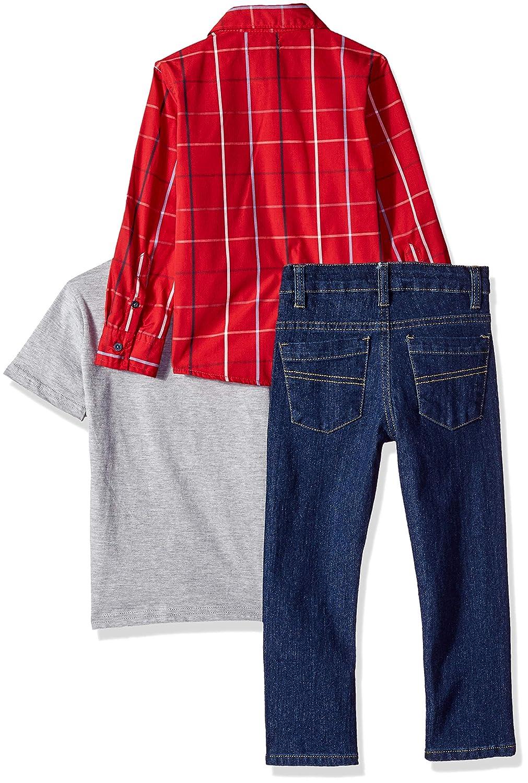 ee329de6c Amazon.com: DKNY Boys' 8th Avenue Sport, T-Shirt and Indigo Denim Jean:  Clothing