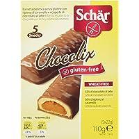 Dr. Schar Barritas de Chocolate - 5 Barritas