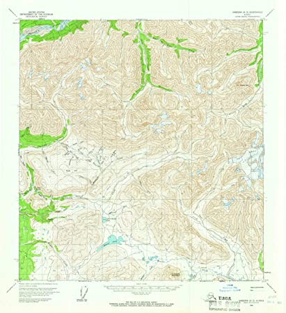 Amazon.com: Alaska Maps   1960 Nabesna, AK USGS Historical ...