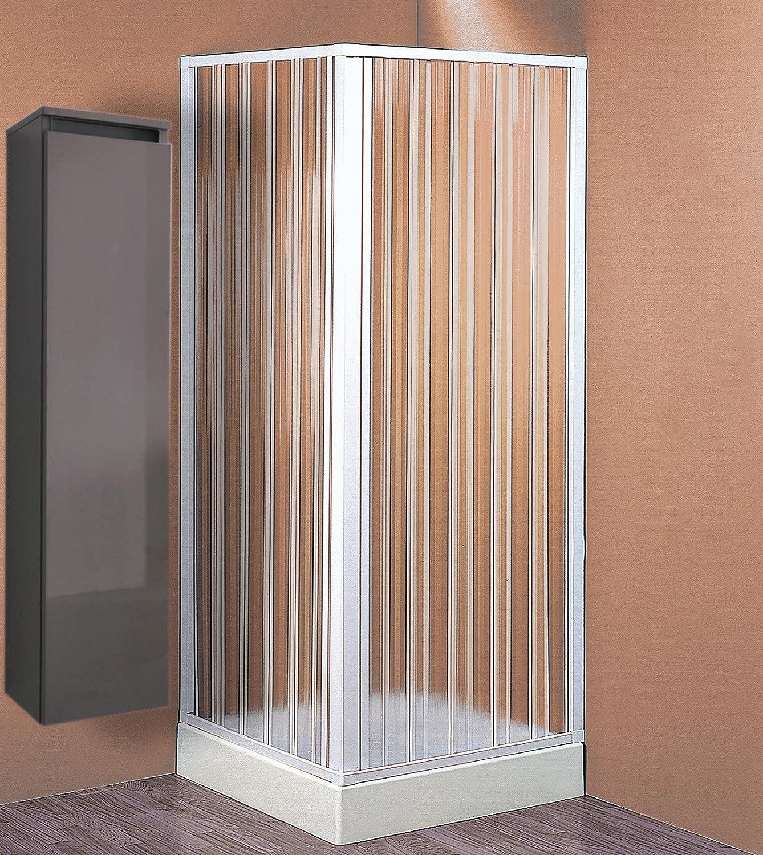 Mampara de ducha de techo, 60/80 x 60/80 cm, 1 unidad: Amazon.es: Bricolaje y herramientas