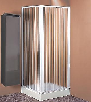 Mampara de ducha de techo, 60/80 x 60/80 cm, 1 unidad: Amazon.es ...