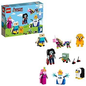LEGO 21308 Adventure Time Toy, Creative role-playing Set