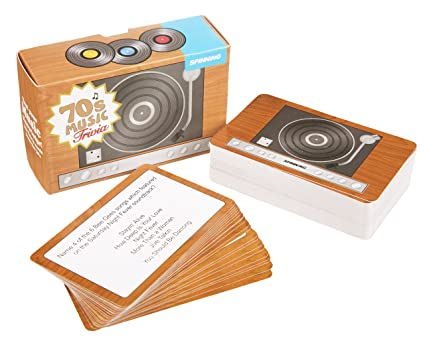 Amazon Gift Republic 70s Music Trivia Cards Toys Games