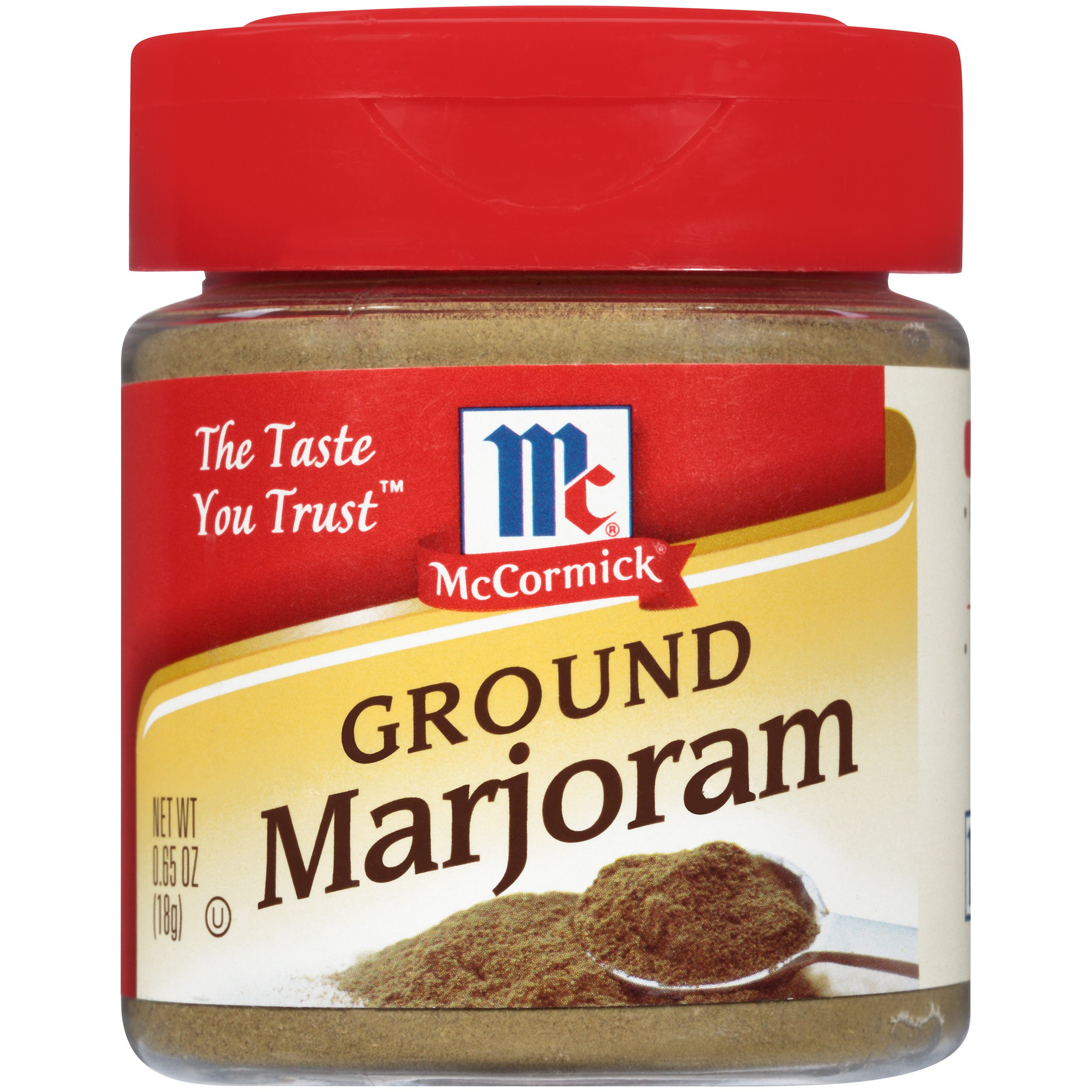 McCormick Ground Marjoram, 0.65 oz