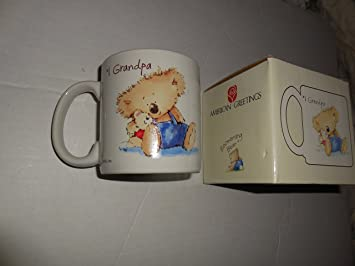 Amazon 1 grandpa american greetings mug boomerang bear 1 grandpa american greetings mug boomerang bear m4hsunfo