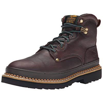 Georgia Boot Men's Georgia Giant G6374 Work Boot, Brown, 8.5 M | Industrial & Construction Boots