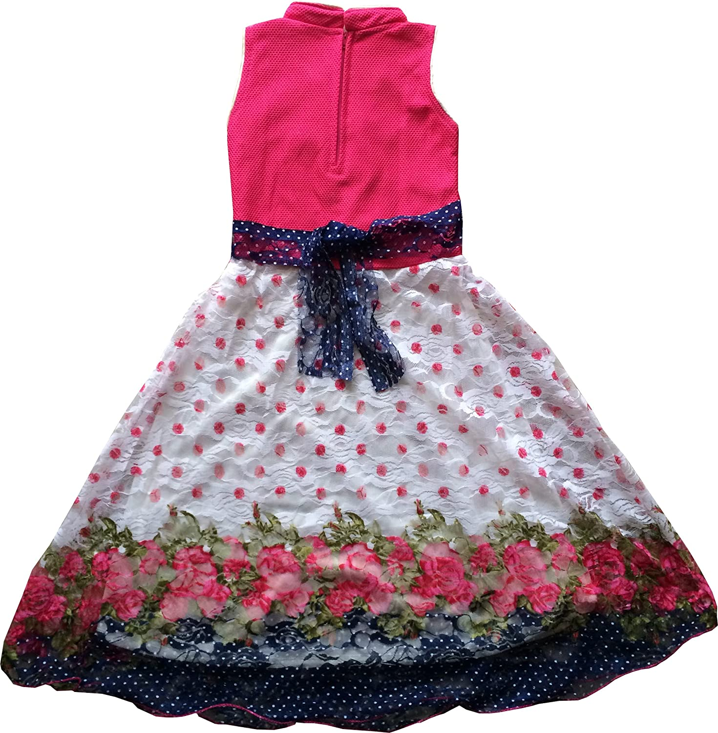 Mpc Cute Fashion Baby Girl s Popcorn Net Dresses for 18 24 Months
