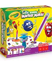 Crayola Silly Scents Marker Maker, Scented, Markers, Gift for Boys and Girls, Kids, Ages 6, 7, 8 and Up, Holiday Toys, Travel, Arts and Crafts,  Gifting