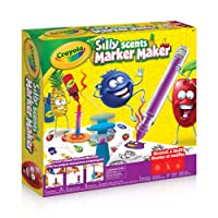 Crayola Silly Scents Marker Maker, Scented, Markers, Gift for Boys and Girls, Kids, Ages 6, 7, 8 and Up, Holiday Toys, Travel, Arts and Crafts