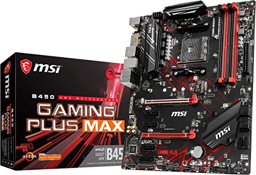 B450 Tomahawk Max Renewed B450TOMAMAX MSI Arsenal Gaming AMD Ryzen 2ND and 3rd Gen AM4 M.2 USB 3 DDR4 DVI HDMI Crossfire ATX Motherboard