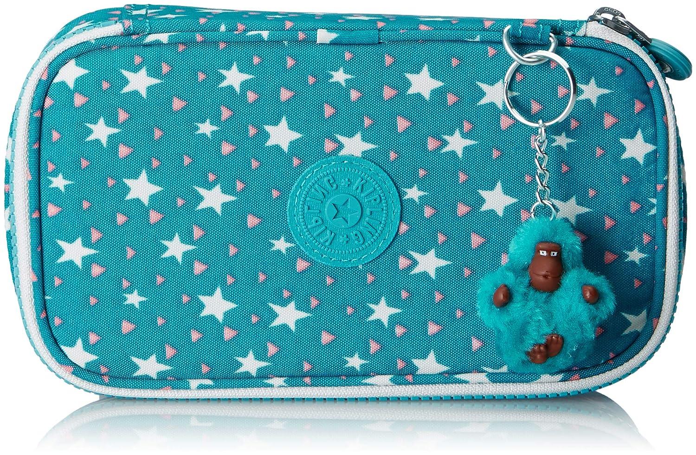 Kipling 50 PENS Pencil Cases, 21 cm, 1 liters, Multicolour (Cool Star Girl)