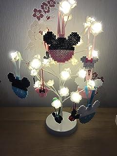 Minnie Mouse Christmas Tree Decorations.Disney Mickey Minnie Mouse Christmas Baubles Set Of 4