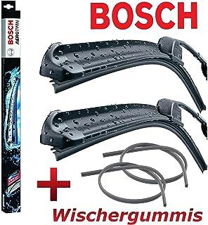 SET 2x GELAN Ersatz Wischergummis BOSCH AEROTWIN AR657S 3397009777 Scheibenwischer 650 // 650 inklusive Waschwasserd/üse VORTEILSPAKET