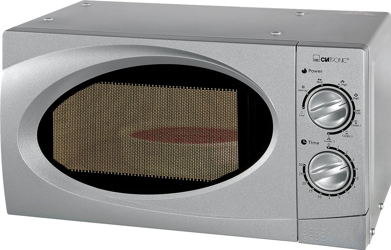 Clatronic MWG 761 U - Horno de microondas, 700 W, 1050 W, 17 ...