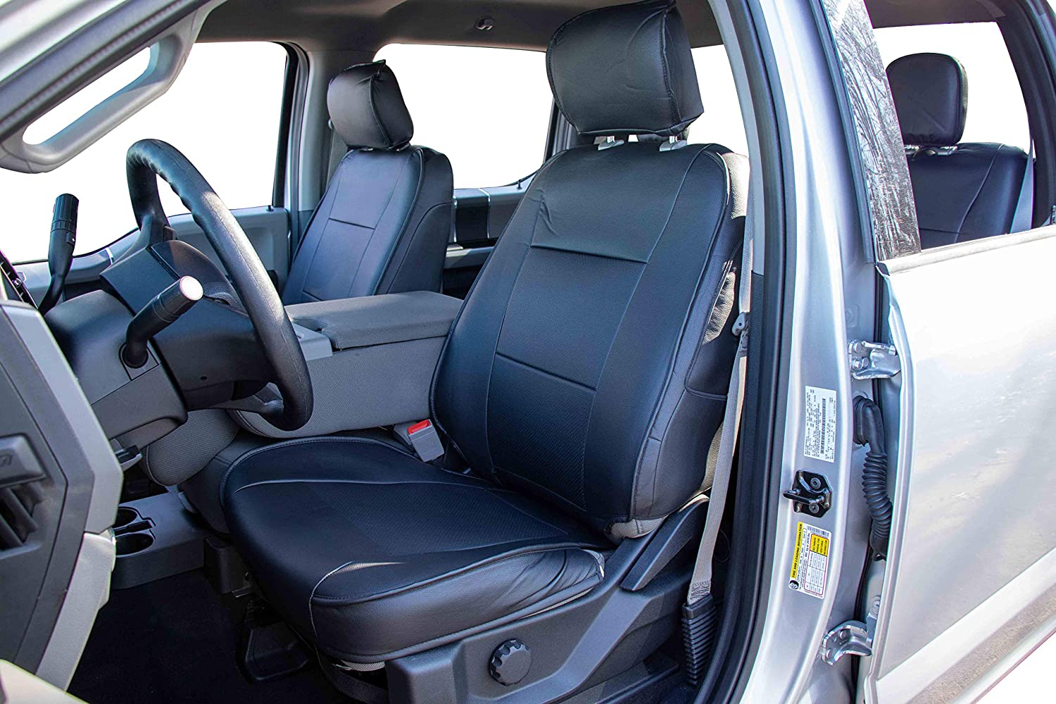 2009-2018 Ram 1500 Truck 09-18 Ram1500/&10-18 2500//3500, Black OASIS AUTO 2010-2018 2500/&3500  Custom Fit PU Leather Seat Covers Full Set Compatible with Ram Pick-up Truck Crew and Double Cab