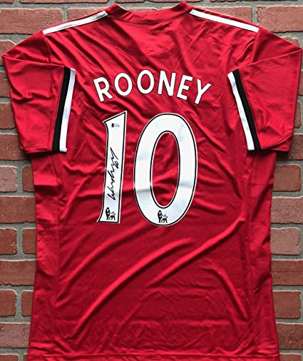 wayne rooney manchester united jersey