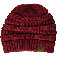 fe367c934f4 Funky Junque Ponytail Messy Bun BeanieTail Women s Beanie Solid Ribbed Hat  Cap