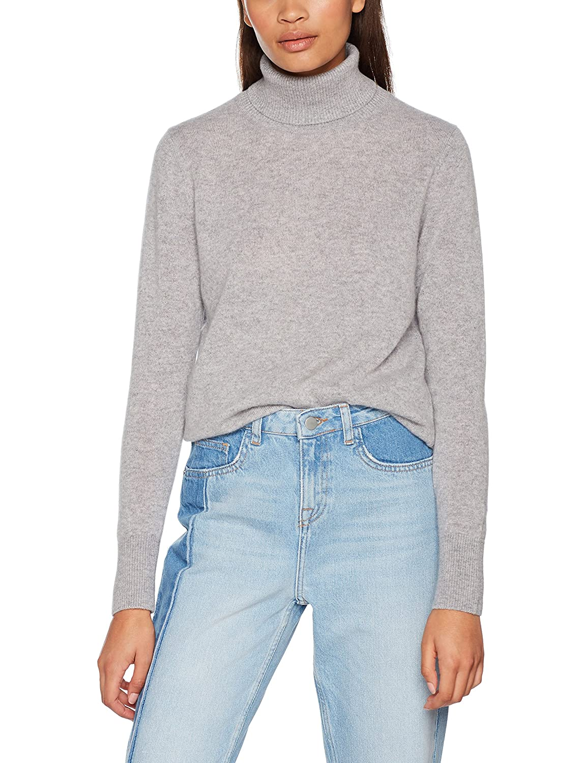 TALLA S. United Colors of Benetton Turtle Neck Sweater suéter para Mujer