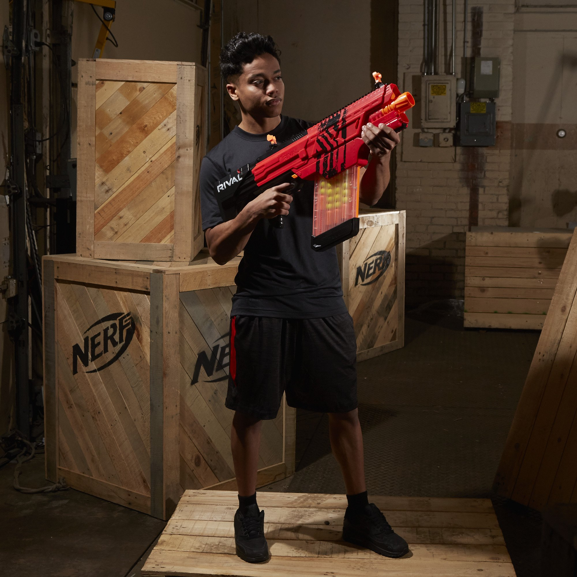 Nerf Rival Khaos MXVI-4000 Blaster (Red) by NERF (Image #12)