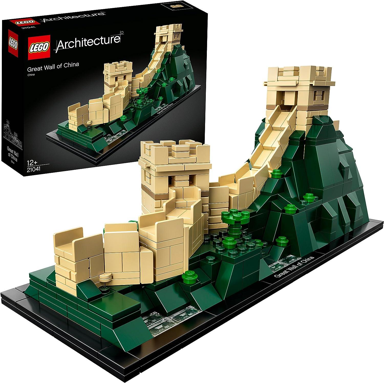 LEGO Architecture - Gran Muralla China, Maqueta Decorativa de Juguete del Monumento Asiático para Construir (21041): Amazon.es: Juguetes y juegos