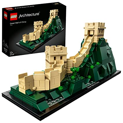 LEGO Architecture Great Wall of China Building Blocks for 12+ Yrs (551 Pcs) 21041 Model Buildings at amazon