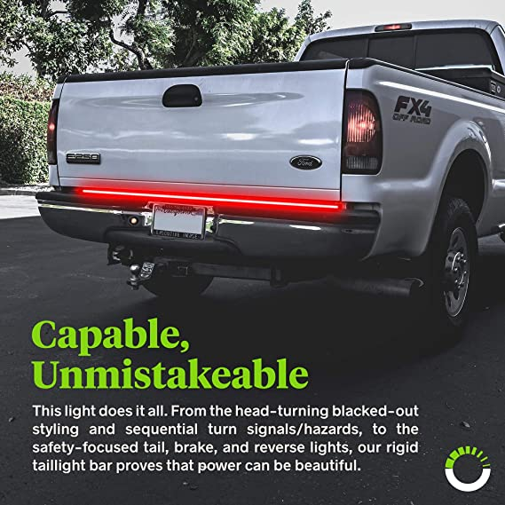 JINGLIGNKJ Universal 60 Camion SUV Hayon Bar Light Bar Reverse Stop Courant Clignotant Light Band