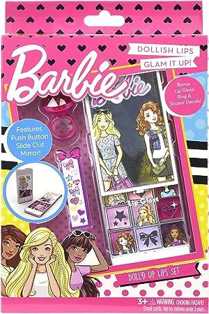 Barbie- Fab Lip, estuche de maquillaje infantil (Markwins Beauty Brands 9708410): Amazon.es: Juguetes y juegos