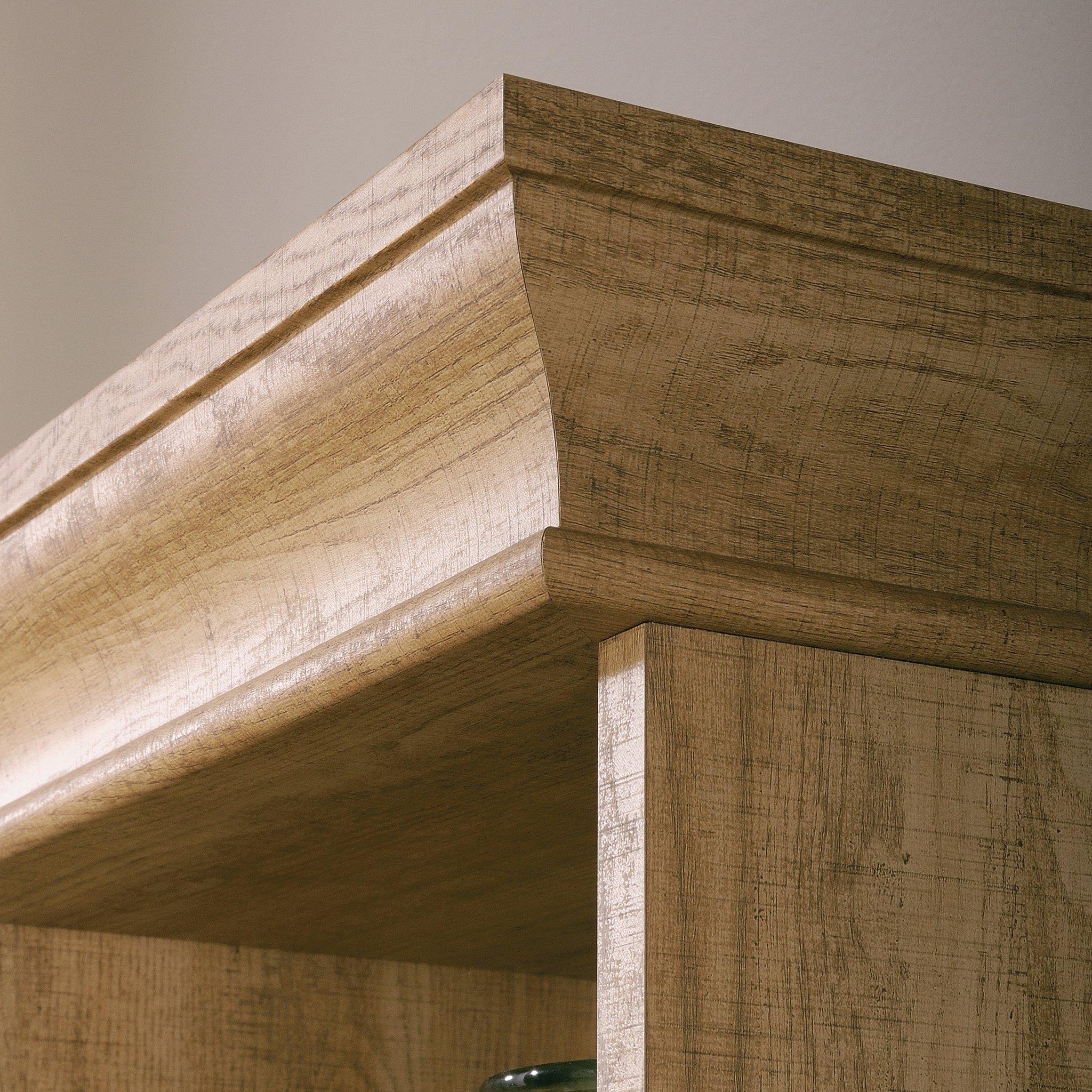 Sauder 414725 Barrister Lane Bookcase, L: 35.55'' x W: 13.50'' x H: 75.04'', Scribed Oak finish by Sauder (Image #8)