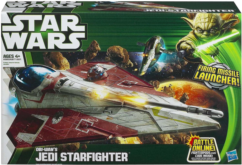 STAR Wars Anakins Jedi Starfighter Veicolo Classe II nuovo giocattolo figura