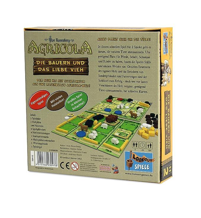 Lookout Games 22160050 - Agricola - Los Campesinos y el Amor ...