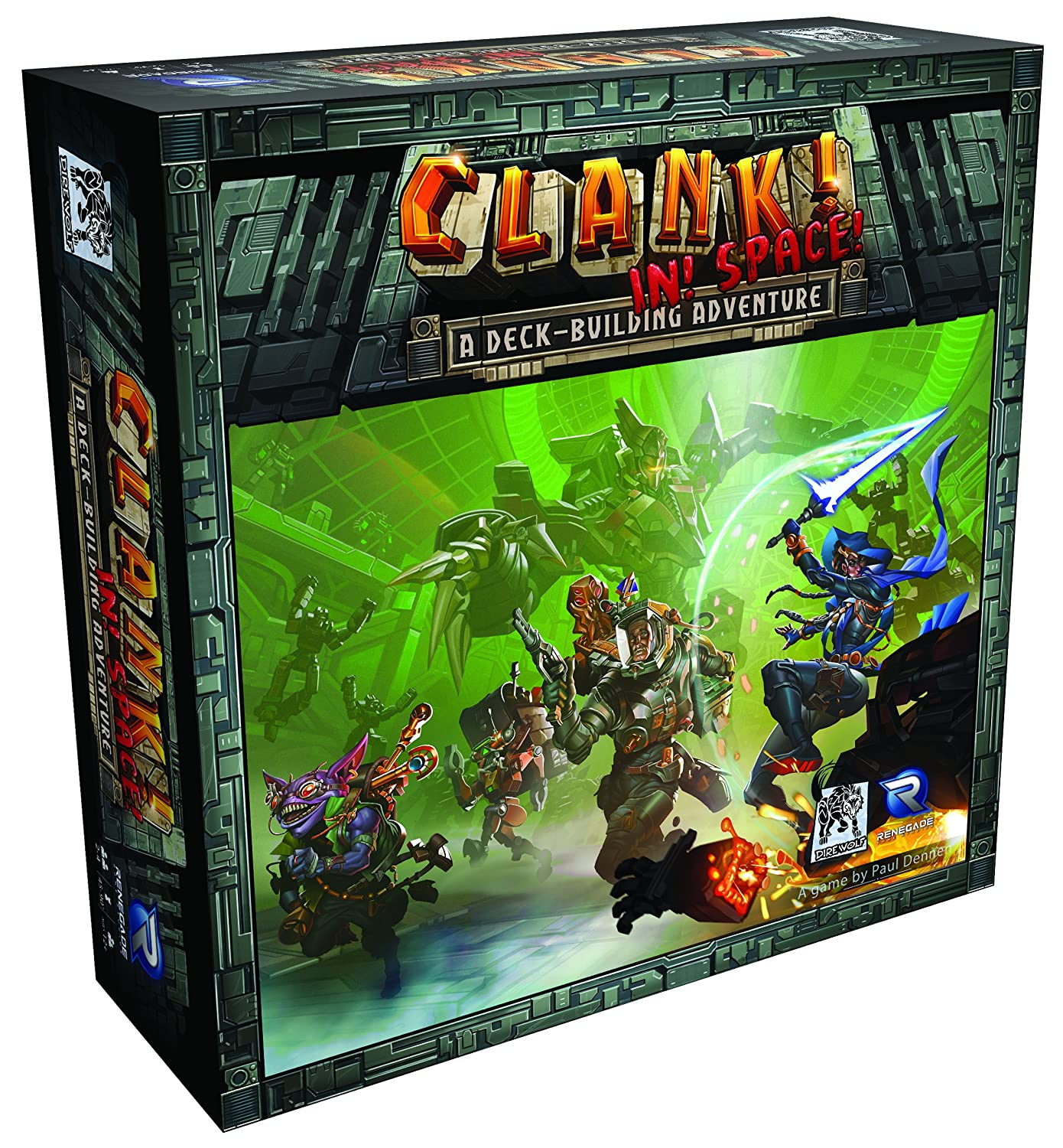 Renegade Game Studios Clank! in! Space! Board Game RGS0594