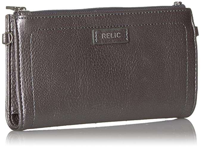 28e70fa67f Amazon.com  Relic Dylan Tab Checkbook Wallet Wallet  Shoes