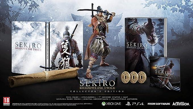 Sekiro Shadows Die Twice Collectors Edition - Xbox One ...