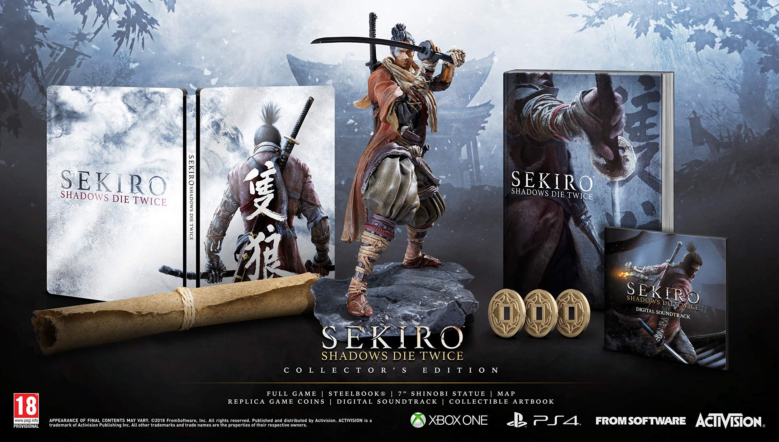 Sekiro Shadows Die Twice Collector's Edition (Xbox One)