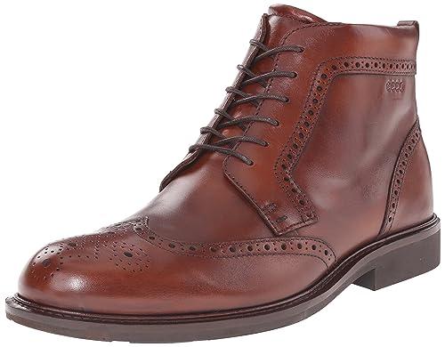 fff7d9f0 Amazon.com | ECCO Men's Findlay Wingtip Boot | Chukka