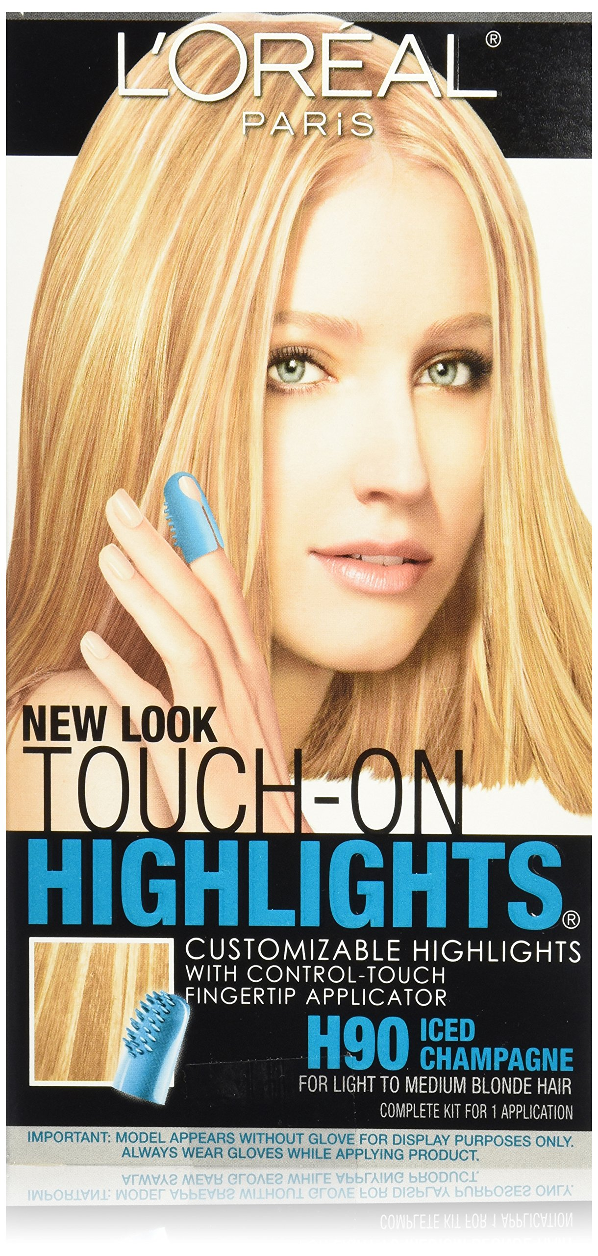 L'Oréal Paris Touch on Highlights Customizable Highlights, H90 Iced Champagne