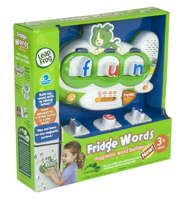 Amazon LeapFrog Fridge Words Magnetic Word Builder Toys & Games