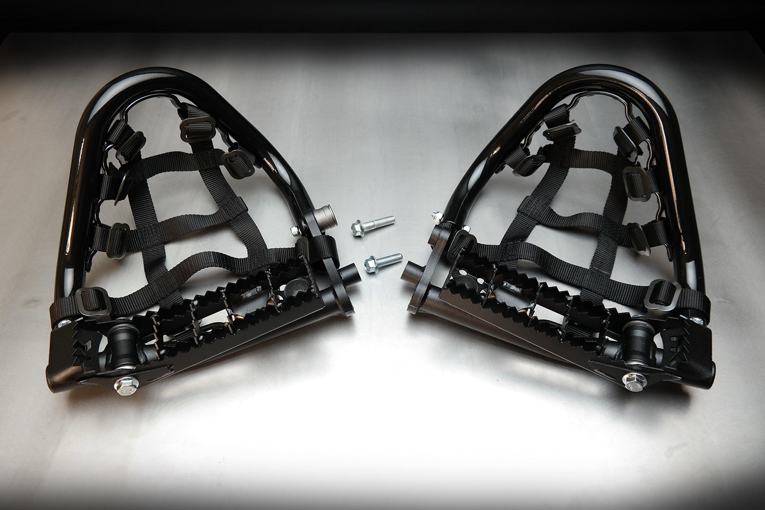 Yamaha Raptor 700 ATV Pro Bounce Heel Guards