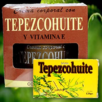 Amazon.com: Tepezcohuite Soap and Body Cream with Vitamin E. Double Anti-aging Benefit Clears Signs of Aging, Wrinkles, Blemishes, Dryness: Beauty