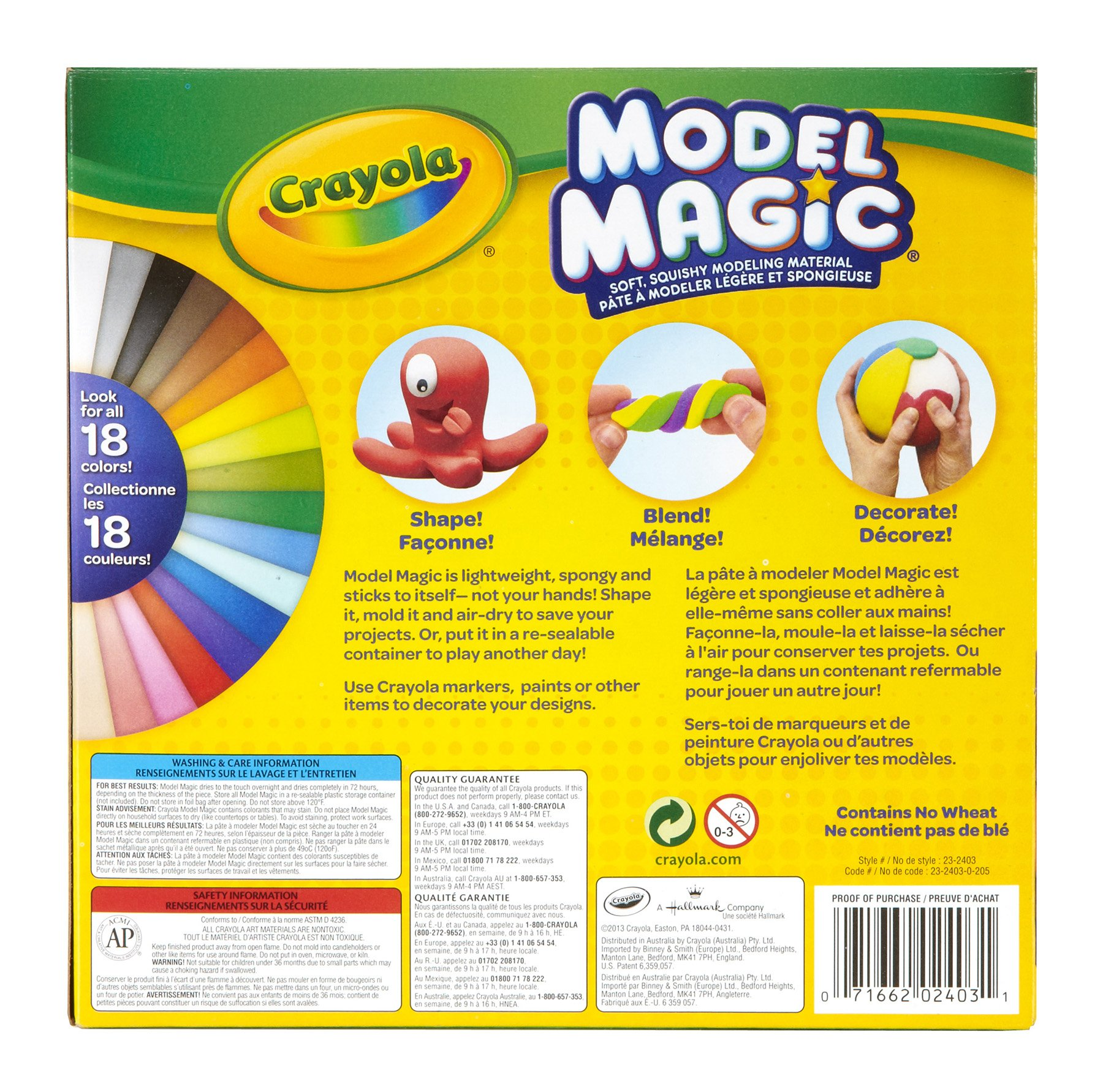 Crayola Model Magic Deluxe Variety Pack, 14 / Pack, Net .7 Ounce by Crayola (Image #3)