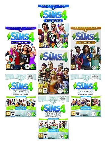 tutte le espansioni the sims 4