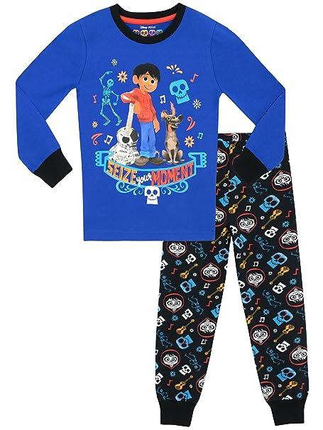 2779d8fa21 Disney - Pijama para Niños - Coco - Ajuste Ceñido  Amazon.es  Ropa y  accesorios