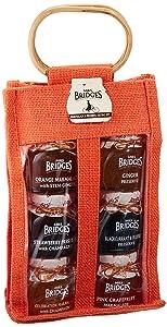 Mrs Bridges Marmalade & Preserve Tasting Set, 6 x 4 Ounce Jars