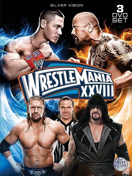 WWE - Wrestlemania 28 [DVD] [Reino Unido]: Amazon.es: The Rock, John Cena, The Undertaker, Triple H, Shawn Michaels, The Rock, John Cena: Cine y Series TV
