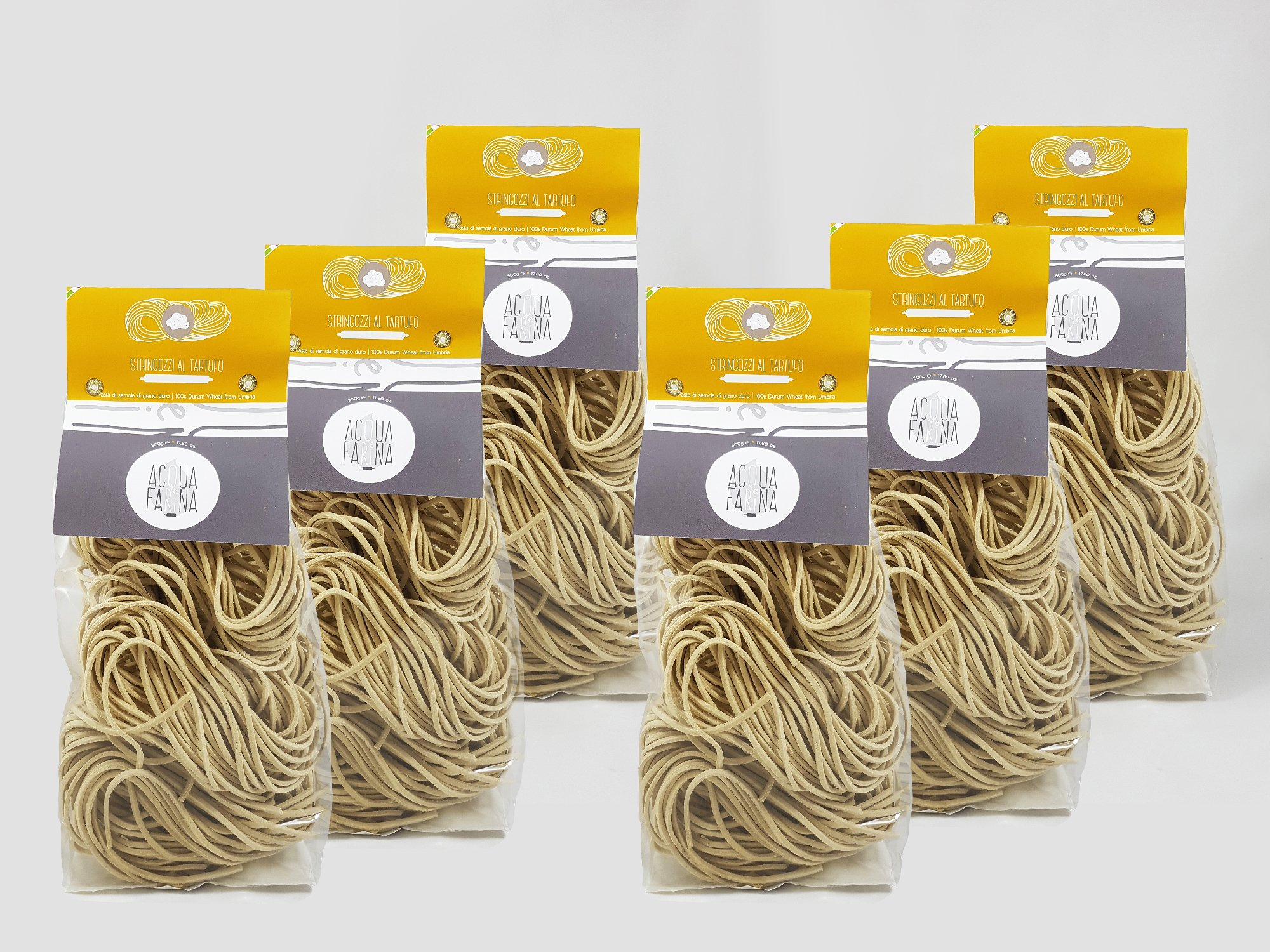 Stringozzi al tartufo 17.60 oz pack of 6 Truffle Flavor