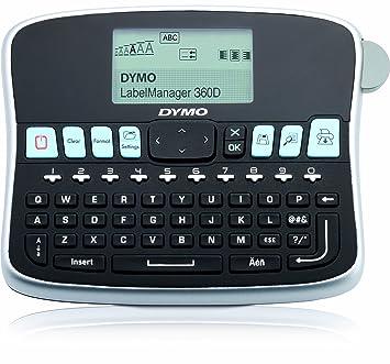 DYMO LabelManager 360D - Impresora de etiquetas (180 x 180 DPI/térmica directa/